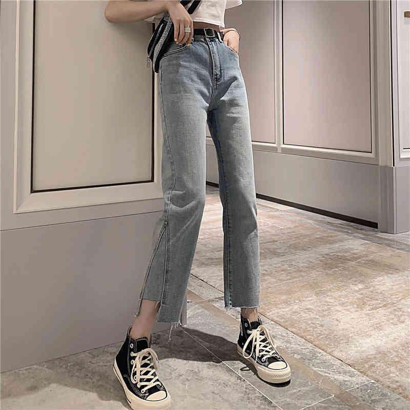 Vente en gros bon marché 2019 nouveau printemps été hot selling féminin mode décontracté denim pantalon jeans femme bw0051