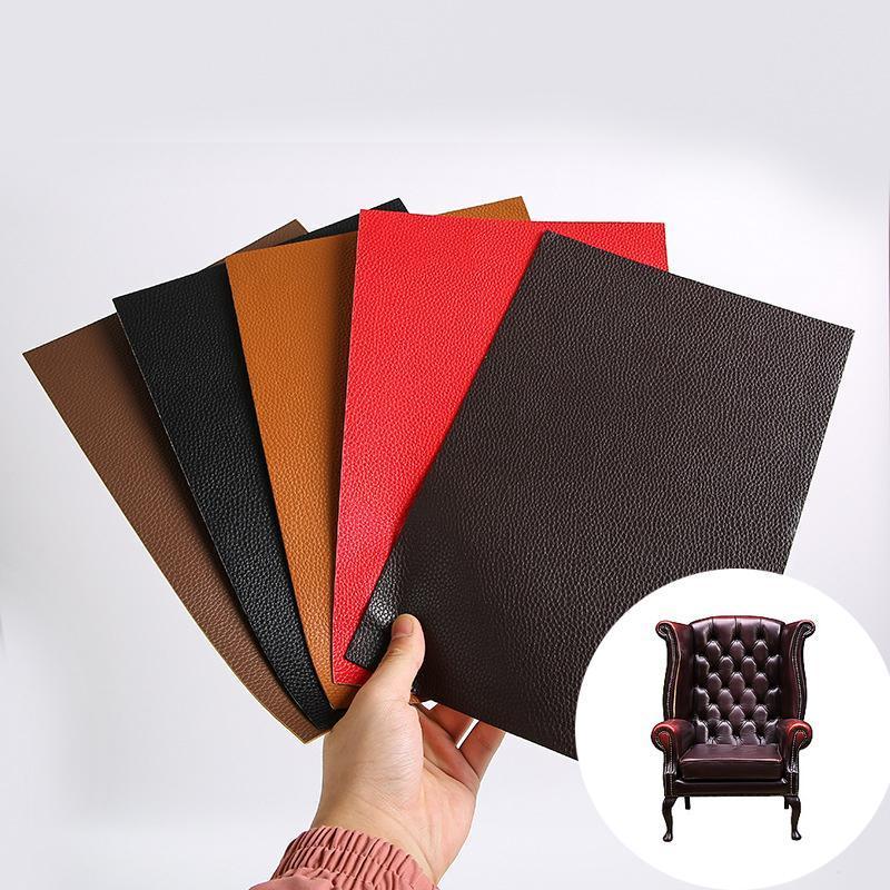 15 * 25 cm Selbstklebende Lederband Stick-on-Sofa Handtaschen Koffer Autositze Reparieren Große Stickr-Patches DIY Handwerk Wandaufkleber