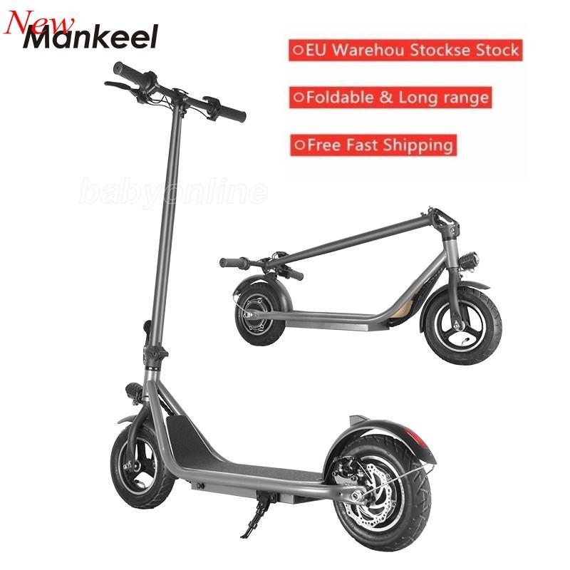 Mankeel 전기 스쿠터 350W 25km / h e 자전거 성인 10inch 강력한 와이드 휠 전기 자전거 MK023 EU 재고