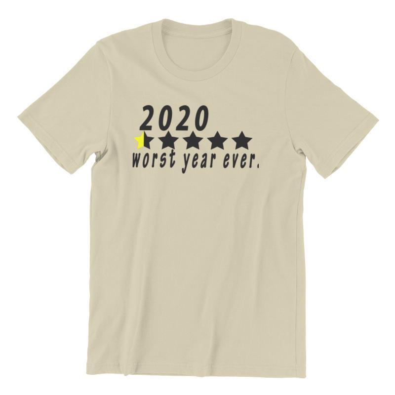 Men's T-Shirts CmetNi Worst Year Ever W Black Punk Anime Male 90s Korean Style Japanese Custom 65224