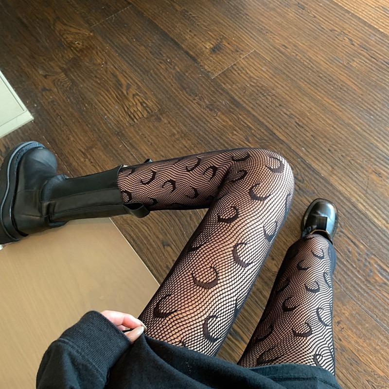 양말 양말 일본식 여성 스타킹 여름 나일론 인쇄 스타킹 섹시한 란제리 여성 원활한 Fishnet 메쉬 팬티 스타킹 꽉