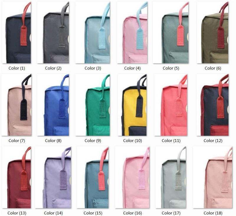 35 Colores Bolsas deportivas al aire libre Mochilas adolescentes para mujeres Girl Unisex Viaje Mochila Bolsa de gran capacidad Dropshipping 7L / 16L / 20L