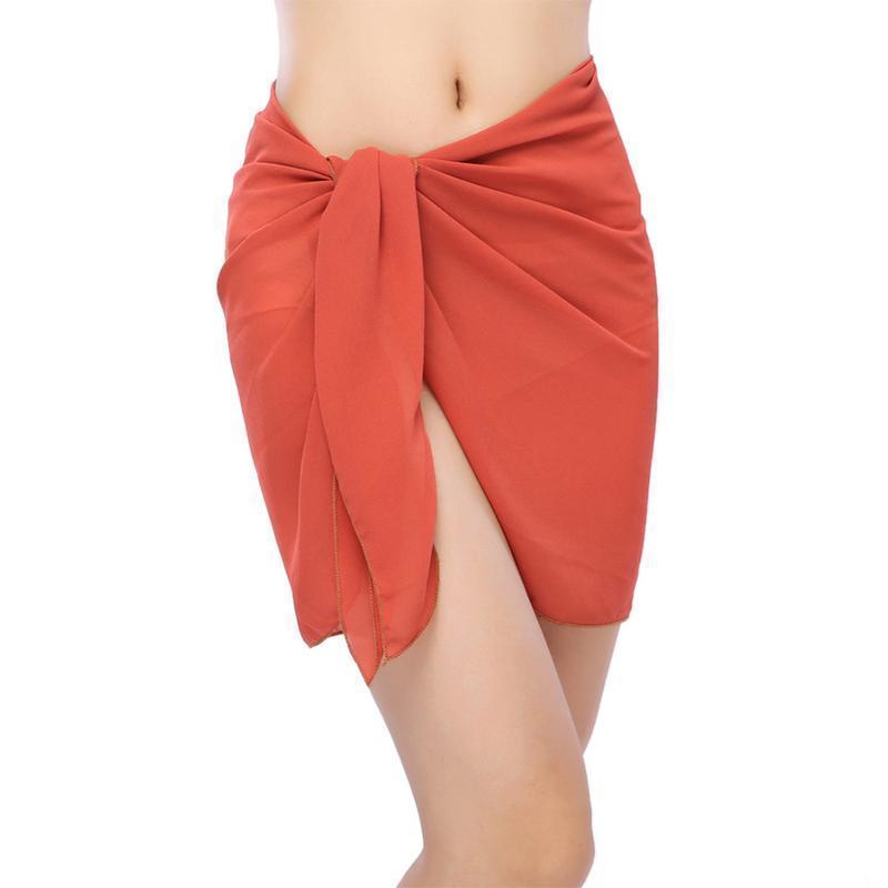 Mulheres Sexy Praia Saia Vestido Sarong Biquíni Cover-Ups Envoltório De Pareo Saias Toalhas Aberto-Back Swimwear Cobrir as mulheres