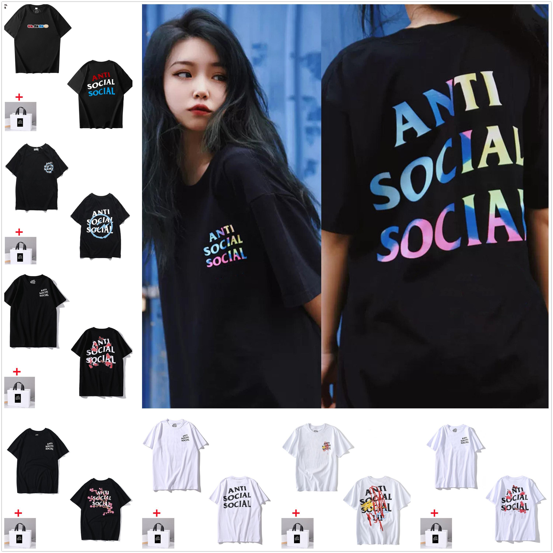 Erkek T Gömlek kadın Kısa Kollu Yüksek Kalite Tshirt Saf Pamuk Yaz Tees Mektup Baskı Hip Hop Stil Giysileri Tote Çanta getir