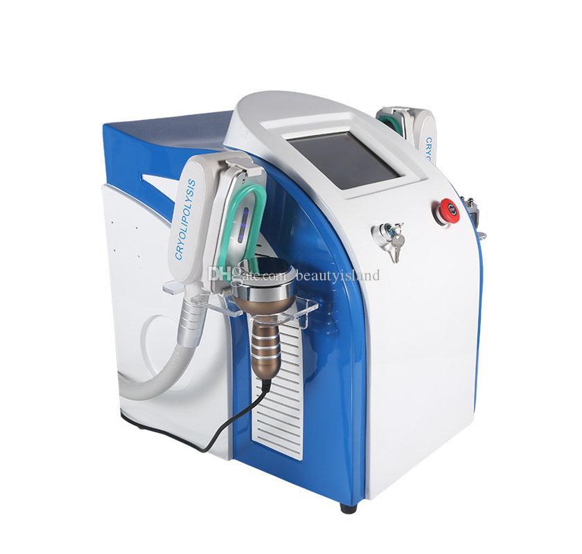 4 in 1 Cryolipolysis 지방 냉동 기계 셀룰 라이트 감소 초음파 Cavitation RF 슬리밍 장비