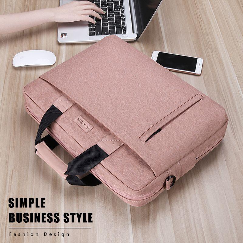 Laptop Bag case Waterproof Notebook Handbags for Macbook Air Pro 13 15 Computer Shoulder Handbag Briefcase