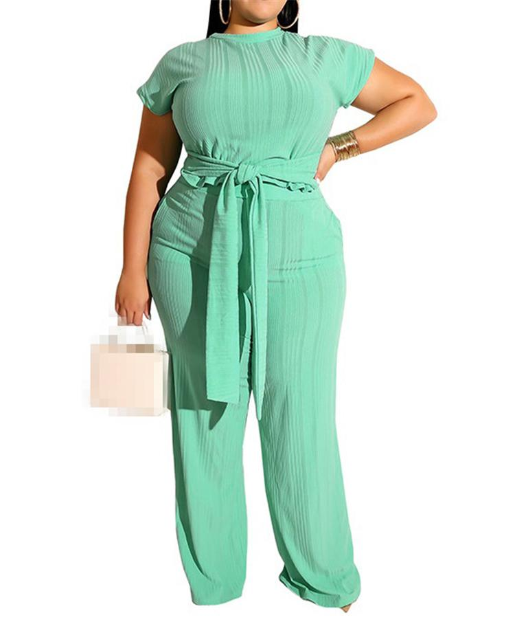 النساء قطعتين مجموعة الزي عارضة الملابس الصيف xl 2xl 3xl 4xl 5xl زائد الحجم كبير