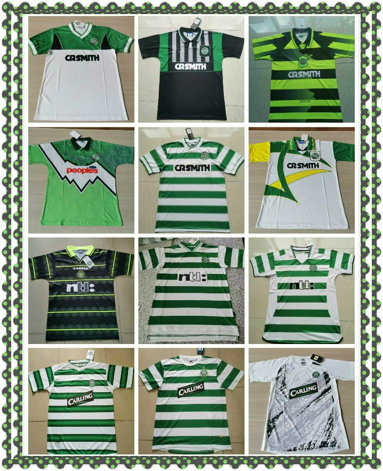 80 82 85 86 87 89 9194 95 96 97 99 00 02 03 Retro Celtic Futbol Formaları 05 06 Larsson Lambert Viduka Moravcik Mjallby Blinke