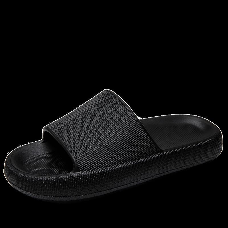 Männer Hausschuhe Internet Explosion Männer Indoor Schuhe Flip Flops Weiche Schwarze Lässige Sommer Männliche Folien