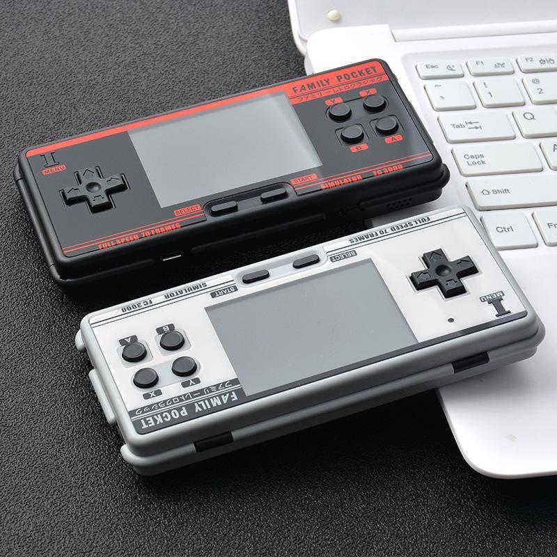 Contrôleurs de jeu Joysticks Console vidéo de poche rétro, intégrée 2000, console portable Support 8 Formats AV Out