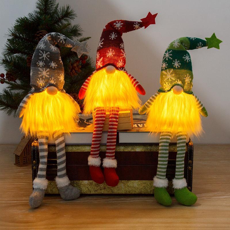 زينة عيد الميلاد بطارية دمية مجهولي الجوي مرح للمنزل زخرفة عيد الميلاد الديكور Navidad سنة 2022