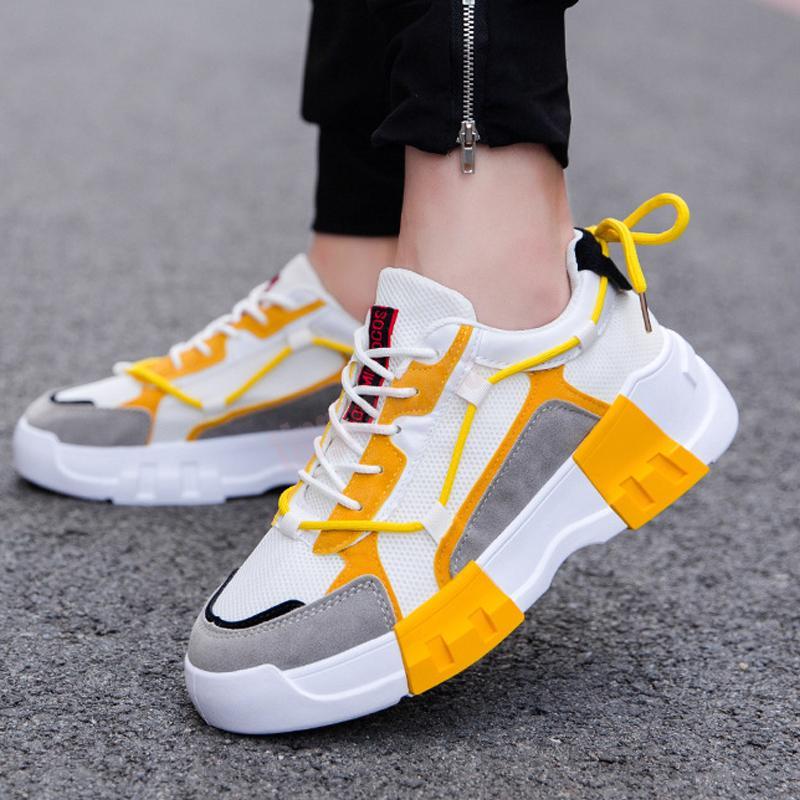 A29 2021 Hommes de haute qualité Hommes Chaussures Bengal Grey Sports Baskets Baskets Taille 7-13 des Chaussures 01