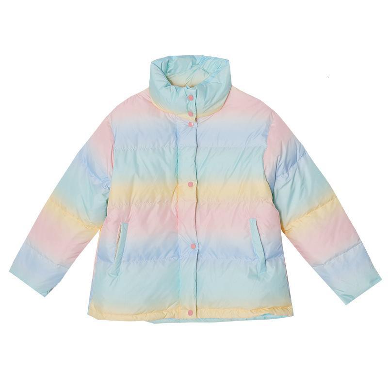 2021 Новый осень и зимний цвет изменить дизайн конфеты досуг предметы с девушкой утолщенные хлопчатобумажные мягкие куртки WOR2