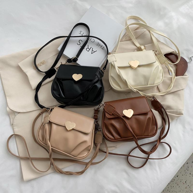 Evening Bags PU Leather Tote For Women Fashion Crossbody Shoulder Hand Bag Lady Trending Handbags And Purses