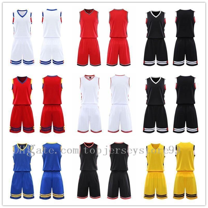 2021 Team Basketball jersey Men pantaloncini da basket sportswear Running clothes White Black Red Purple Green 36 1104