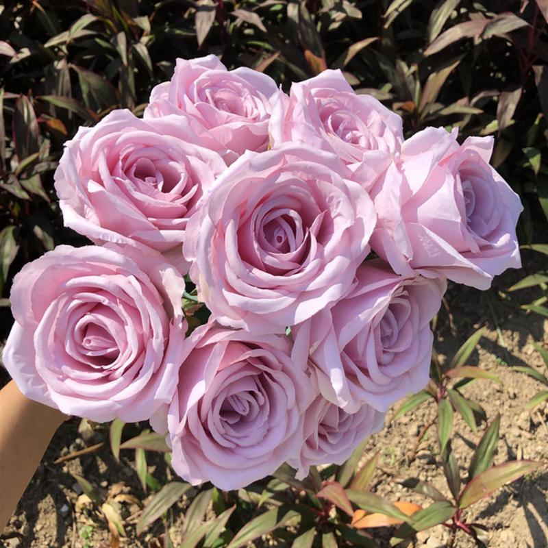 Dekorative Blumen Kränze Künstliche Blume Home Decoration Hochzeit Tisch El Möbel Erstellen Kreative gefälschte Blumenstraußdekorationen