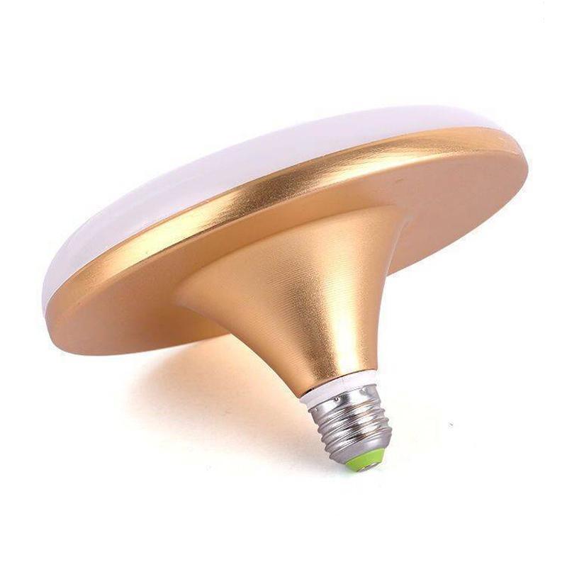 Super Bright E27 LED Bombilla 220V Destacado 15W 20W 30W Lampada Ampolla Bombilla Ahorro de energía Alta Poder Homen Sala de estar Lámpara UFO Lámpara VTKY2051