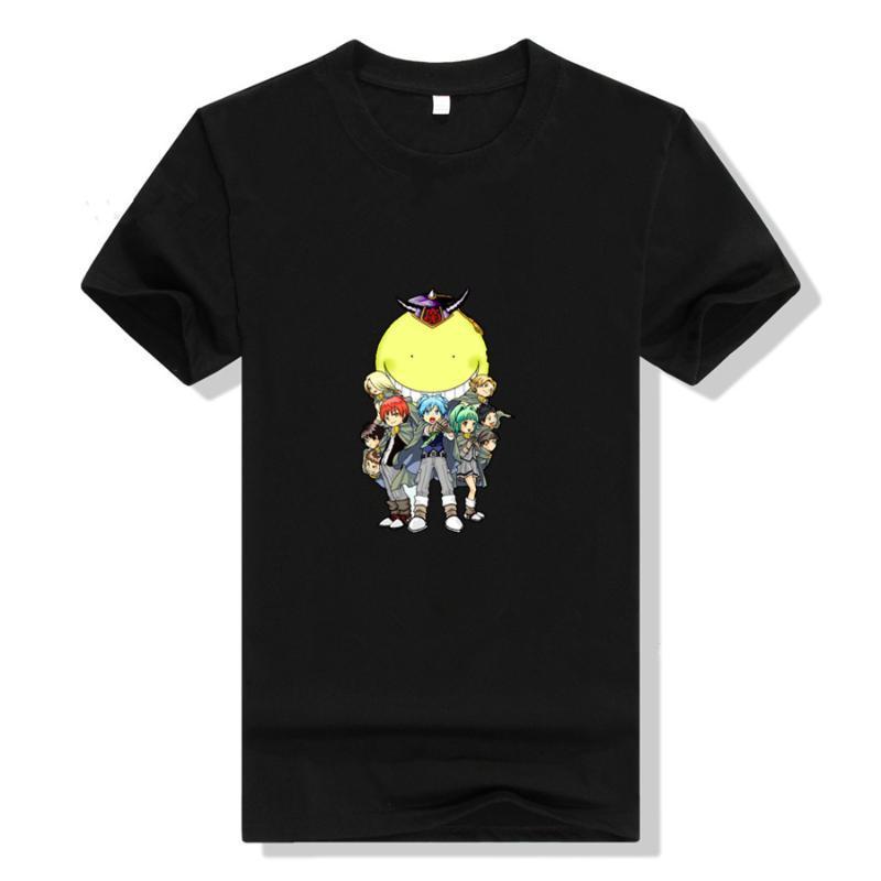Men's T-Shirts Ansatsu Kyoushitsu T Shirt Cosplay Women Printed Cotton T-shirt Short Sleeve Summer Casual Tee Tops Woman