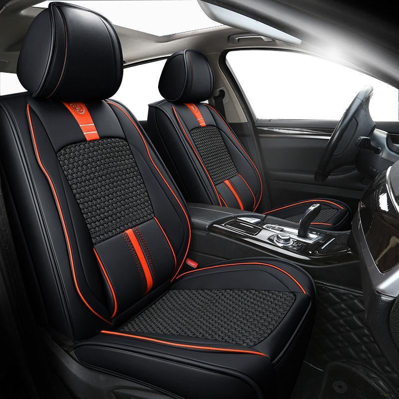Autositzabdeckungen yNOOH für Escalade SRX CTS ATS CT 6 XT 4 5 SLS-Beschützer