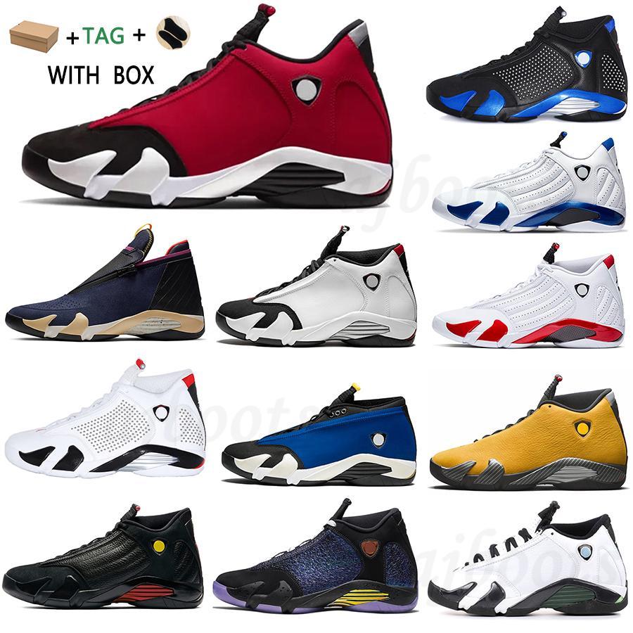 2021 신발 14S 14S 남성 체육관 레드 블루 캔디 테라코타 지팡이 대학교 골드 하이퍼 로얄 망 트레이너 스포츠 스니커즈