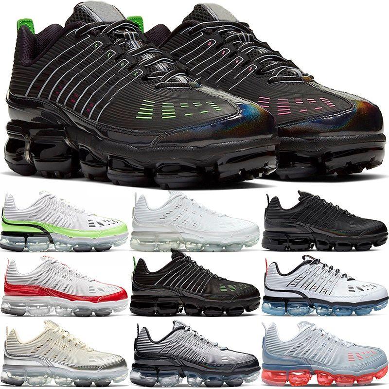 Yüksek Kalite 360 Artı Koşu Ayakkabıları Erkekler Kadınlar Büyük Boy Üçlü Beyaz Siyah Gri Üniversitesi Kırmızı Hız Sarı Erkek Sneakers Spor