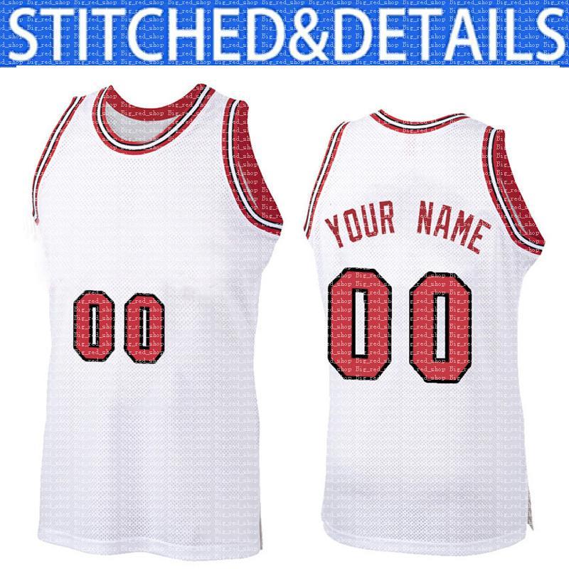 مخصص diy تصميم شيكاغو أي عدد جيرسي 00 شبكة كرة السلة البلوز شخصية خياطة اسم الفريق و numbe الأحمر مبيعات أسود أبيض