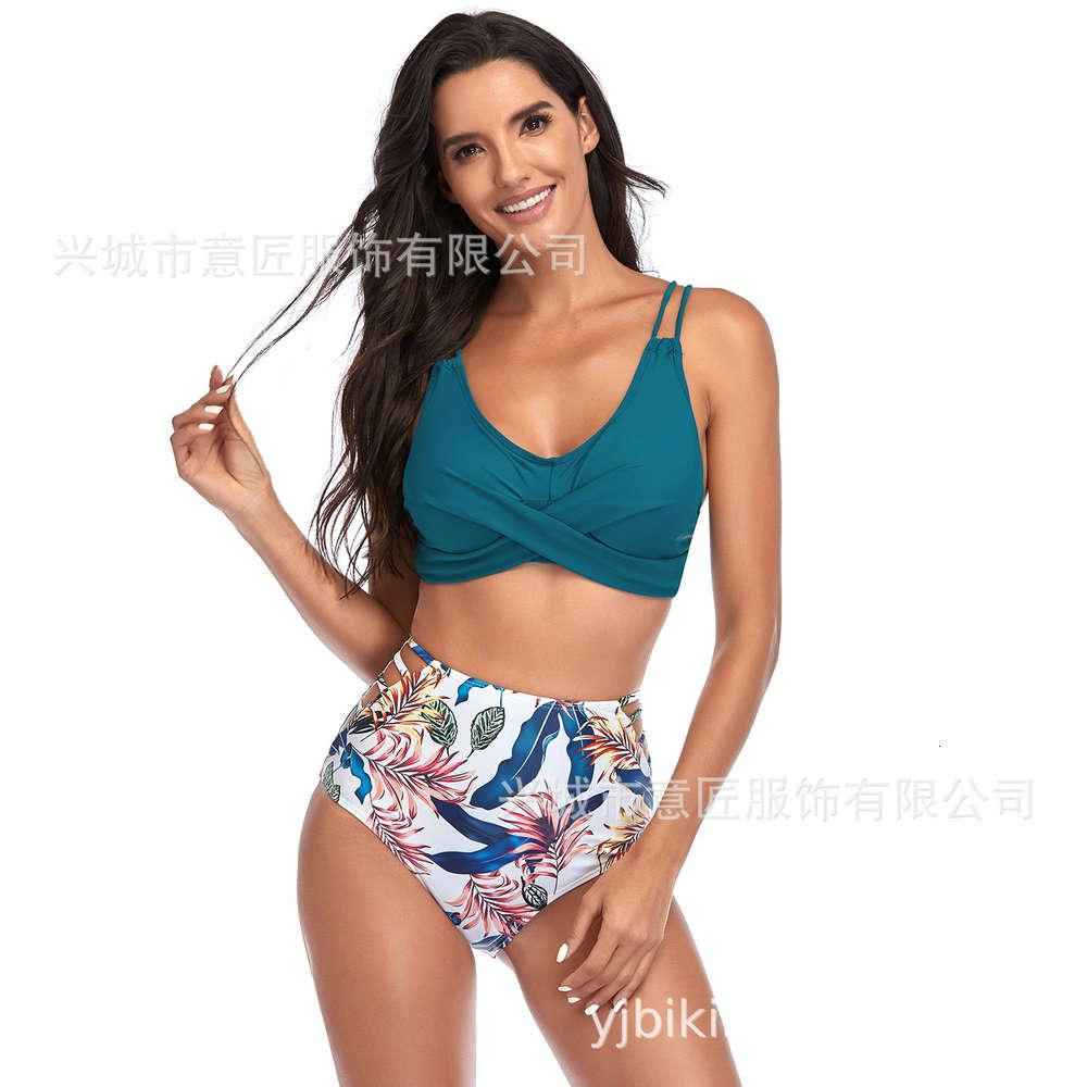 21 год новая высокая талия вырезанный купальник сексуальный бикини пляжная одежда
