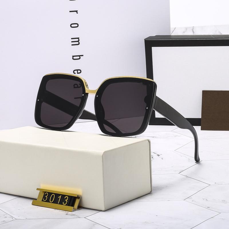 ثلاثة ألوان أزياء النظارات الشمسية للنساء العصرية الكلاسيكية عارضة القيادة في الهواء الطلق رشاقته تصميم نظارات الشمس عالية الجودة hd الاستقطاب العدسات 3013