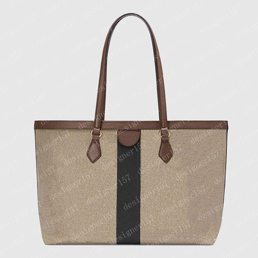 2021 Tote Bag Big Totes Borsa da donna Borse Borse Donne Borse Brown Borse Doppi Lettere Portafoglio moda in pelle 574796 38 cm # GOT01