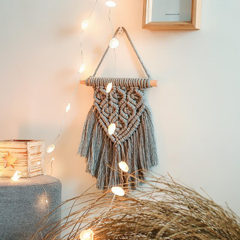 Wandteppiche Böhmische gewebtes Tapisserie Wandbehänge Nordic Style Quaste Hängen Tägliche Verwendung Schlafzimmer Anhänger Boho Dekor