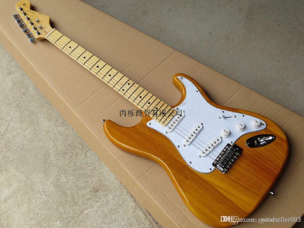 2014 Yeni Toptan Sıcak Yeni Gelmesi Stratocaster Elektro Gitar Elektro Gitar Stokta @ 9