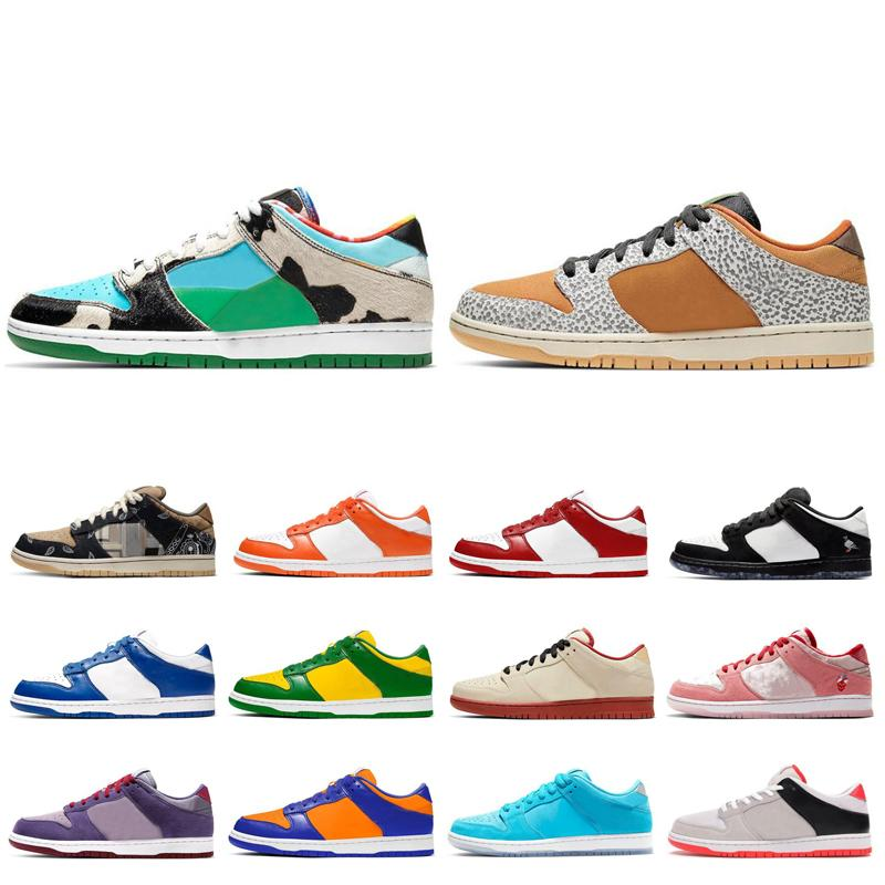 Chunky Dunky Safari Bave Homens Mulheres Sapatos Syracuse TR SC Valentine's Day University Champ Red Cores Dunk Mens Trainers Esportivos Sneak
