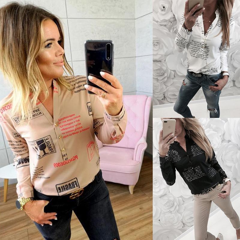 Sonbahar Kadın Bluz Gömlek Vintage Giysi Artı Boyutu 3XL Bahar Rahat Bayan Üstleri Ve Bluzlar Chemise Femme Blusas Feminina Kadın Gömlek