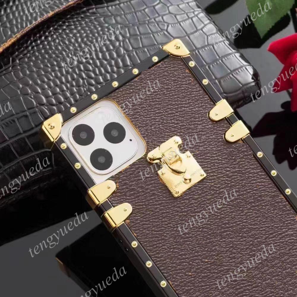 آيفون 12 11 برو ماكس XS XR XSMAX 7 8 زائد حالات الهاتف العلوي الأزياء باريس أظهر غطاء ديلوكس جلدية مصمم مع سامسونج note20 note10 S20 S10 S9 S8