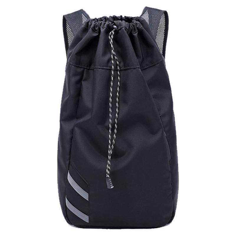 Backpack Men Bucket Gym Travel Balls Large Capacity Storage Outdoor Sport Soccer School Bag Drawstring Basketball Waterproof