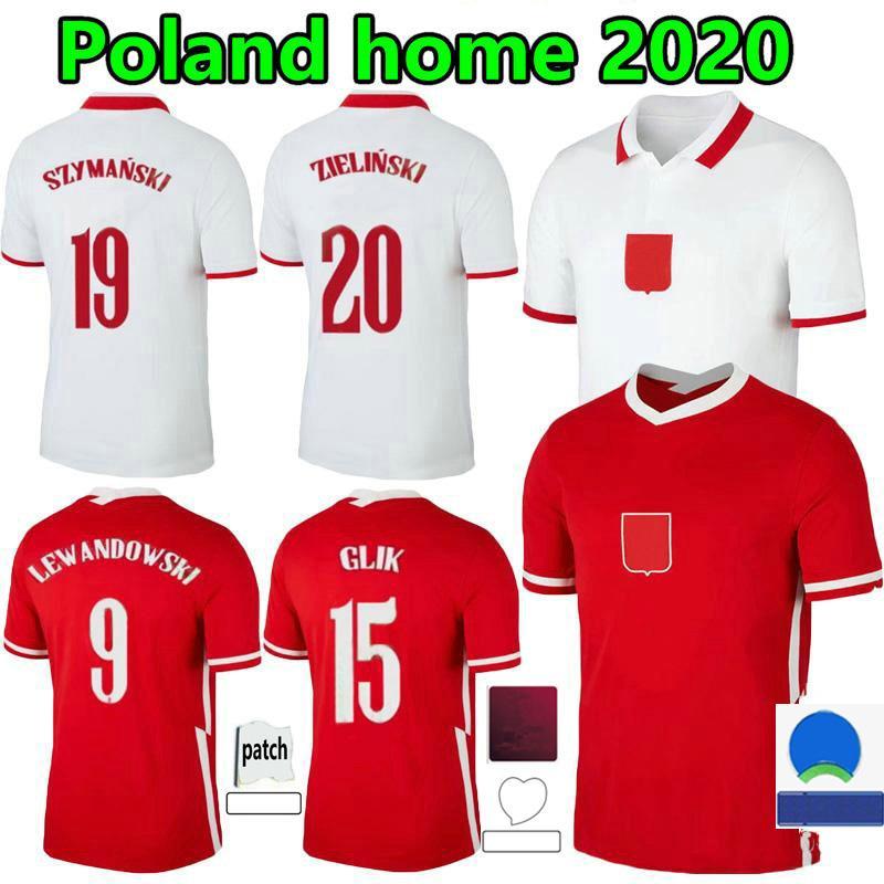 2021 Polska Lewandowski Soccer Jersey 2022 المنتخب الوطني الصفحة الرئيسية Mailleots 20 21 أحمر أبيض Milik Pol Piszczek Polonia كرة القدم قمصان الرجال Camesitas الزي الرسمي