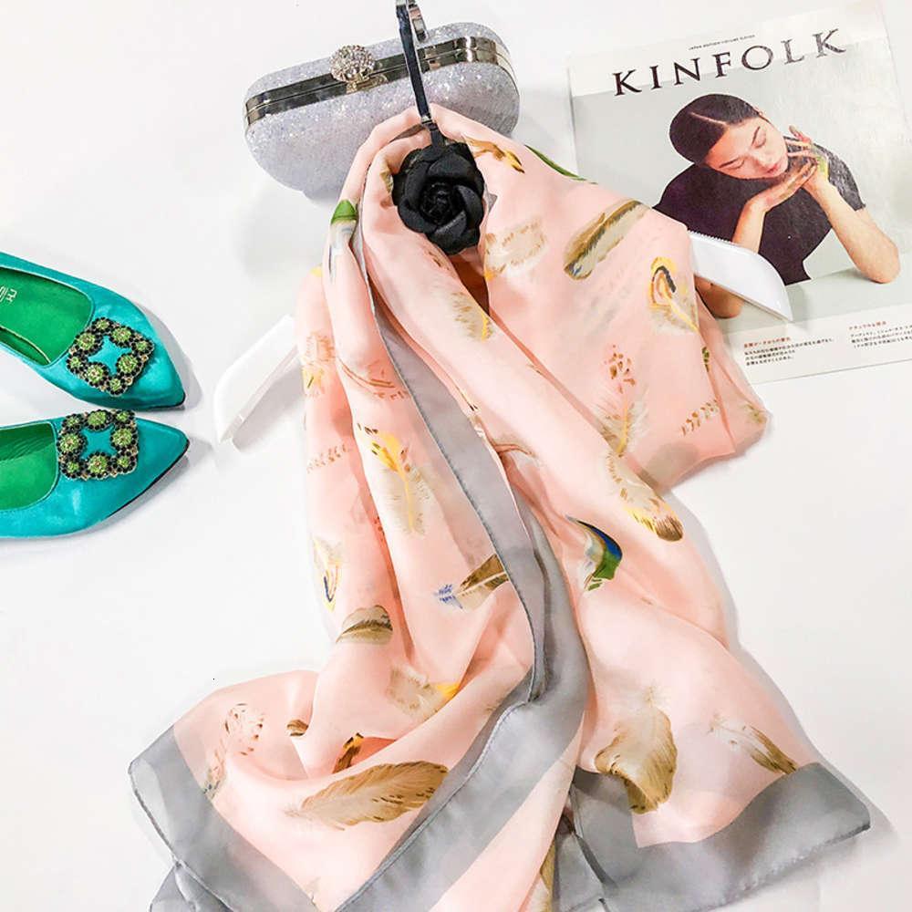 DesignerTaoobao di alta qualità Autunno e inverno nuova simulazione satinata lunga scialle sciarpa scialle di scialle spiaggia