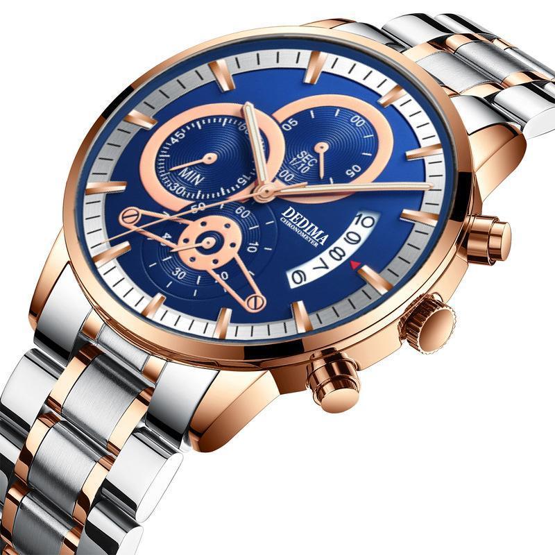 Armbanduhren 2021 Explosionsmodelle Multifunktionale Business Männer Uhr männliche Uhr All-Steel Persönlichkeit Sport Thin Man