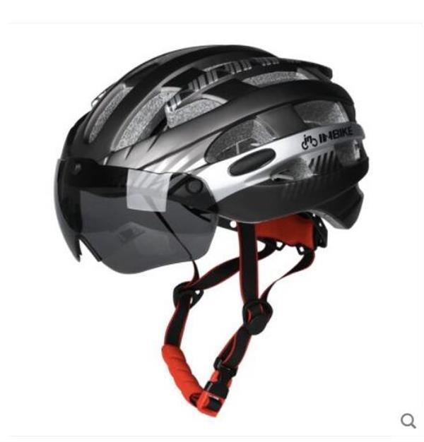 Tour de France Road Bike Casque Casque Lunettes Lunettes de Vélo Homme et Femme Équipement de vélo Hat Sécurité Montagne