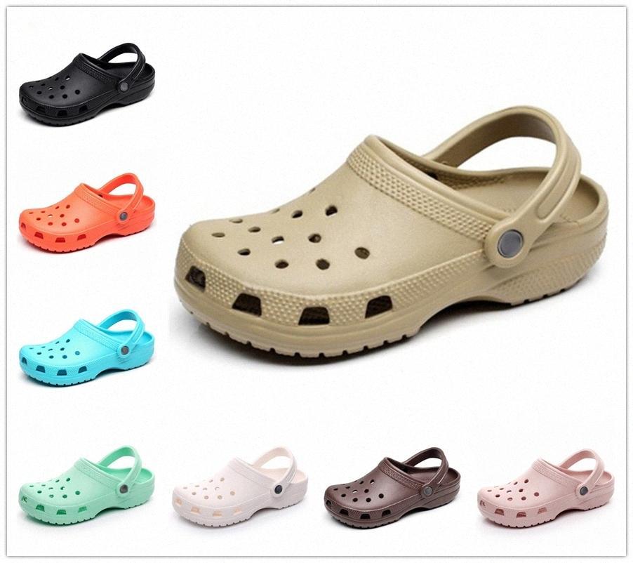 Kadın Yaz Sandalet Plaj Kadın Erkek Erkek Slip-On Ayakkabı Terlik Kadın Erkek Croc Takunya Crocks Su Mules O5XR #