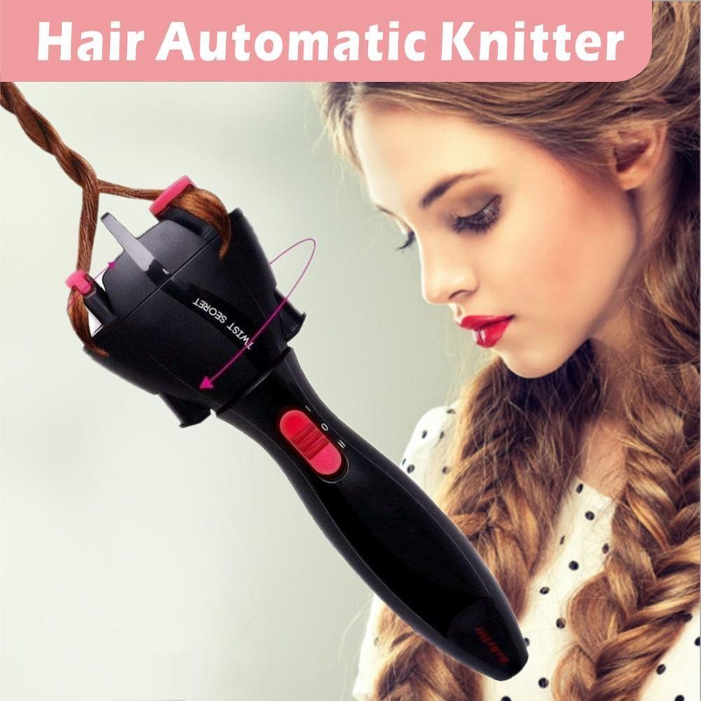 Twister automatique Twister Twister Easy Diy Corde Bracelet Cheveux Brafler Rouleau Tools Tools Machine pour enfants