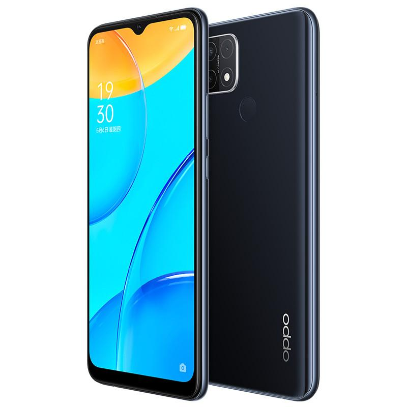 Original Oppo A35 4G LTE Mobile Phone 4GB RAM 64GB 128GB ROM Helio P35 Octa Core Android 6.52 inches Full Screen 13.0MP AI 4230mAh Face ID Fingerprint Smart Cell Phone