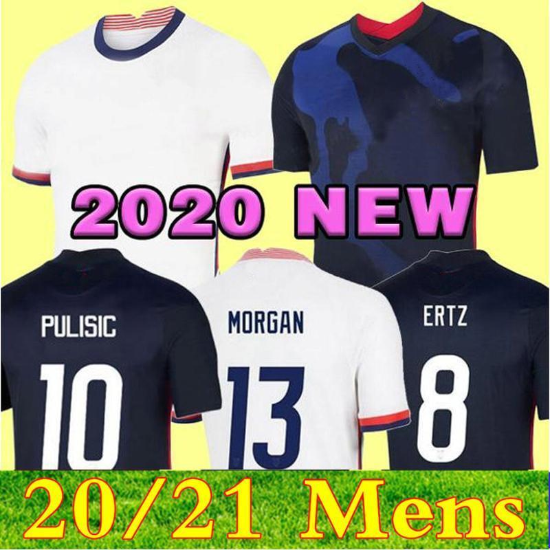 2021 남자 아이들 축구 유니폼 기독교 pulisic jersey 20 21 Alex Morgan Julie Ertz Megan Rapinoe Press Lloyd Heath Yedlin Dempsey Krigerger 축구 셔츠