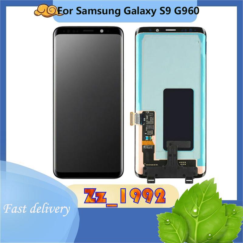 """Сотовый телефон сенсорные панели 5.8 """"Super качественный оригинал для Samsung Galaxy S9 G960 ЖК-дисплей экран замена цифрователя G9600 G960N G960F G960U"""