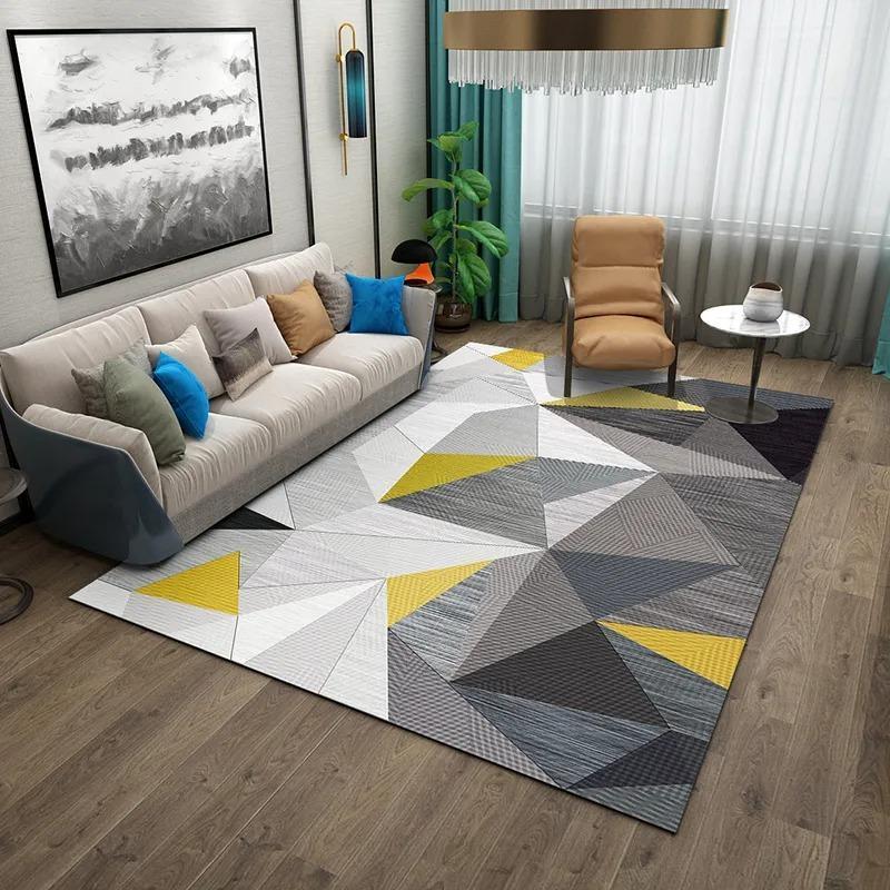 Teppiche Ins Wohnzimmer Sofa Couchtisch Kissen Modern Stil Schlafzimmer Mädchen Nachtdecke Decke Teppich Große Fläche Home Kann U sein