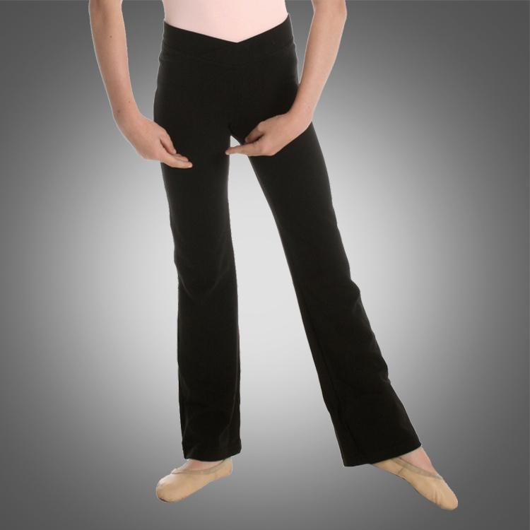 Kind v Taille Jazzhose C2518 Großhandel Balletttanz Hosen unten