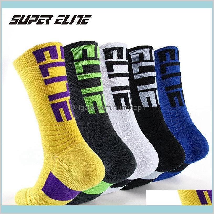 Super Elite Men Sports Socks Riding Велоспорт Баскетбол работает спортивный Носок Летние Пешие прогулки Теннис Лыжный мужчина Женщины Велосипед Велосипед Slip Ubyf3 Hy1ak