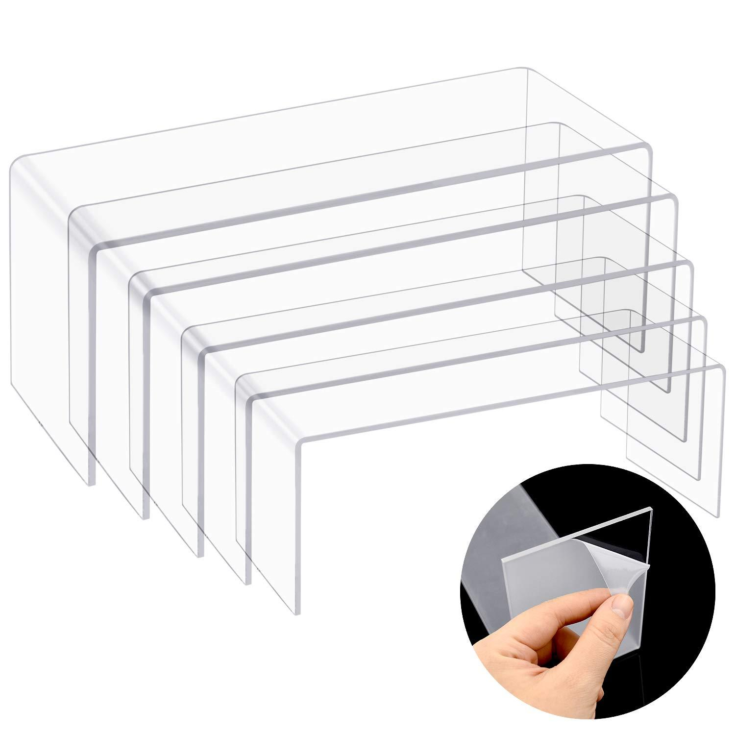 Hot Sell Clear Strong Acrylic Display Riser / Stand 2 buyers/Acrylic display stand