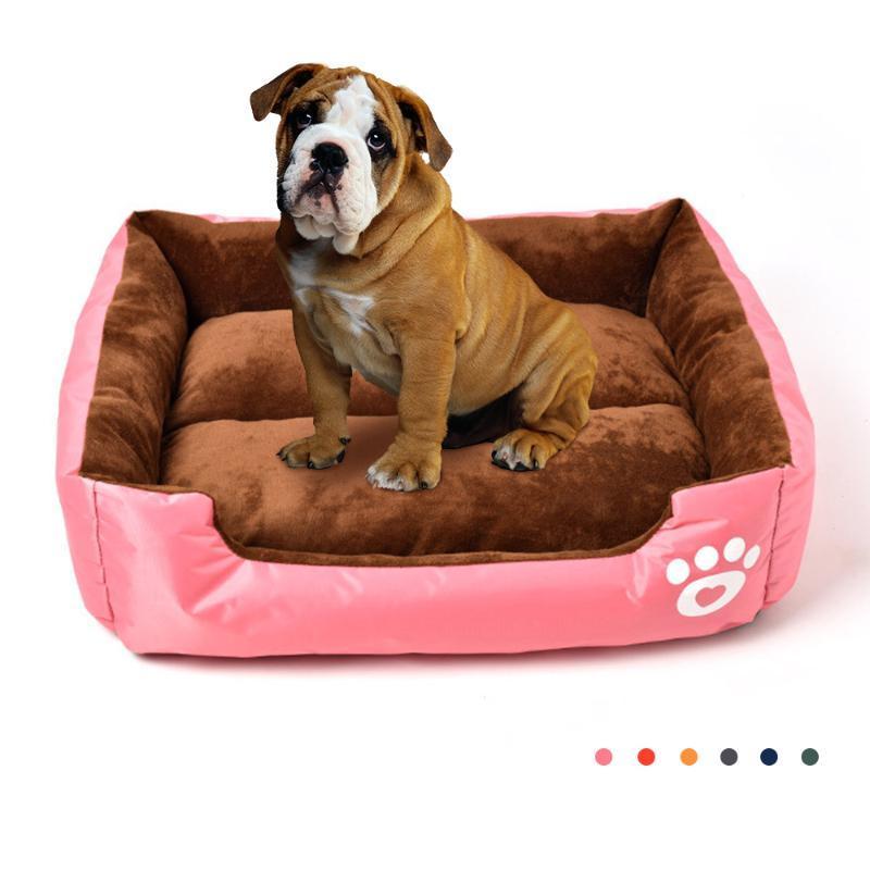 Kennels Stifte mit fester Farbe Hundebett für Katzen Kissen Zubehör Haustierbedarf Sofa Hunde Zubehör Winter Warmmatten Haustiere