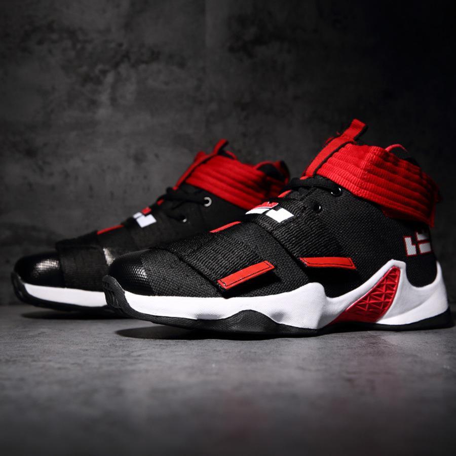 Graffiti Basquetebol 39-45 Men's High High Top Botas de Combate Respirável Desgaste Resistente Desgaste Sports Student Shoes de lazer 6bm5